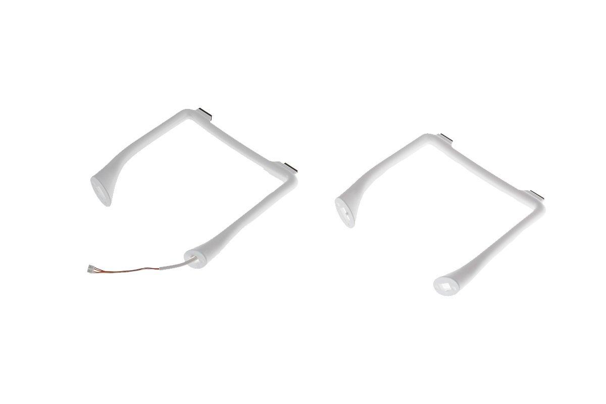 Посадочные шасси желтые к квадрокоптеру dji светофильтр цпл для беспилотника mavic combo