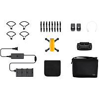 DJI Квадрокоптер (желтый) DJI SPARK Fly More Combo (EU) Sunrise Yellow