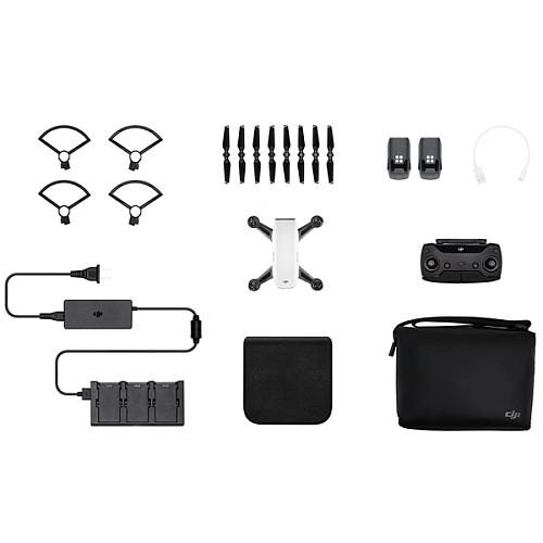 DJI Квадрокоптер (белый) DJI SPARK Fly More Combo (EU) Alpine White